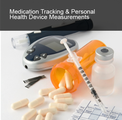 Medication Tracking and Personal Health Device Measurements